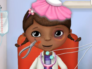 Mcstuffins in ambulanza