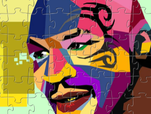 Mike Tyson Puzzle d'Arte