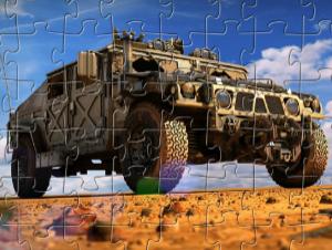 Jigsaw Militare Hummer