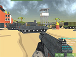 Militære Wars 3D Multiplayer
