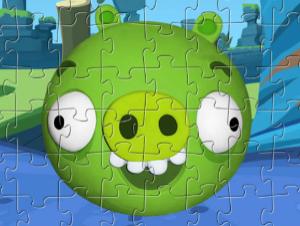 Puzzle de porc de menthe