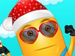 Minion Xmas fél Look
