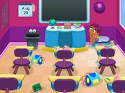 Modern osztályterem menekülés