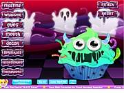 Monster Cupcake Dekoration