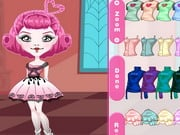 Monster High Chibi C um Cupido Dress Up