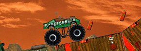 Monster Truck Demolisher Game