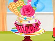 Decoração cupcake newyear