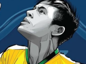 Neymar Estrella de Fútbol