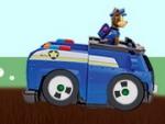 Carrera de la pata de la Patrulla de coches