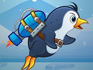 pingüino Jetpack