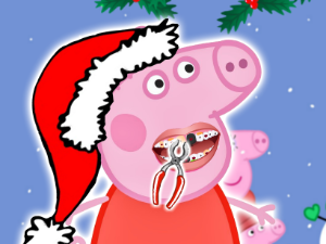 Natal do porco de Peppa