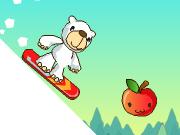 Snowboard de l'ours polaire