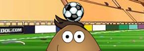 Pou Malabarismo Fútbol Game