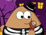 Pou de Halloween Slacking