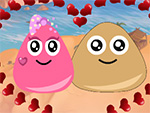 Pou y princesa Love 2