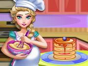 Gravid Elsa Baking Pannekaker