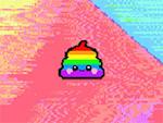 regnbåge Poop