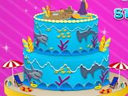 Gâteau d'été Rapunzel