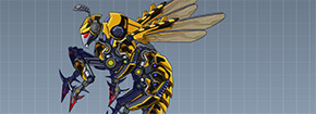 Toy Robot War Robot Bee Game