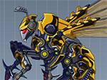 Toy Robot War Robot Bee