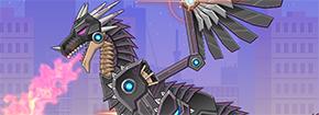 Játék War Robot Black Dragon