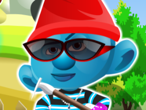 Smurf Dress Up