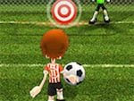 La estrella de fútbol