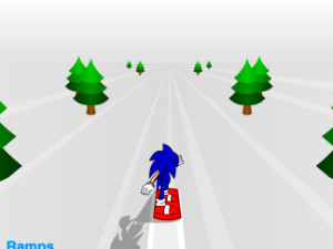 Snowboard 3d Sonic