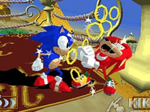 Sonic Fighting Juego