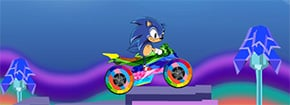 Sonic The Hedgehog Biker Game