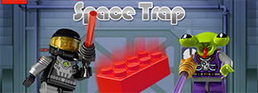 Minifigures Space Trap Game
