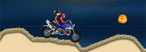 Spiderman de Halloween Racing Game