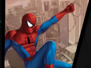 Spiderman Laboratorio de bloqueo