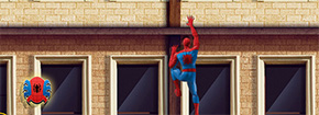 Spiderman parete Crawler Game