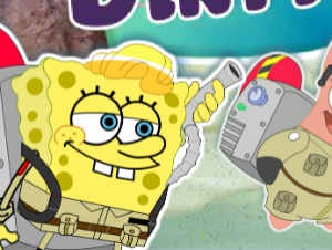 Spongebob y Patrick Dirty Bubble Busters