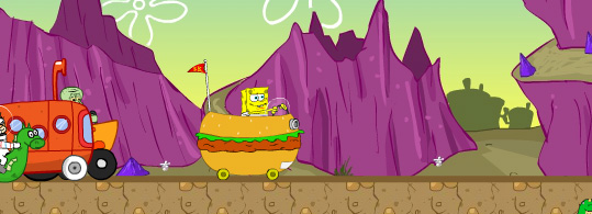 Bob Esponja Racing Tournament Game