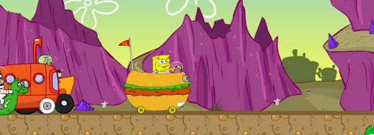 Spongebob Racing Tournament Game
