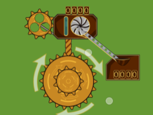 Spinner Idle de Steampunk
