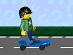 Lego City Gate Skater