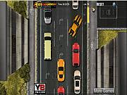 Sitter fast i trafikken