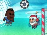 Super Soccer noggins de Navidad