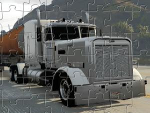 Jigsaw de camión cisterna