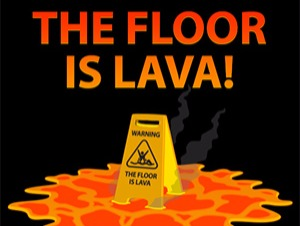 Floor is Lava Challenge Online