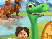 El buen viaje del dinosaurio a casa