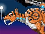 Juguete Guerra Robot Rampage Smilodon