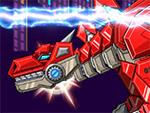 Juguete Robot War Stegosaurus