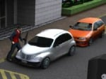 Betjent parkering 3d
