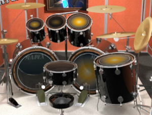 Conjunto de bateria virtual