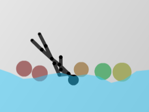 Ragdoll de agua