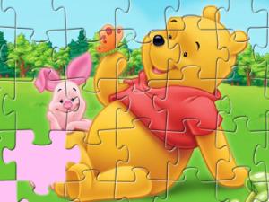 Micimackó puzzle